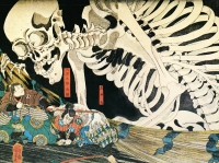 Utagawa Kuniyoshi: Sceleton