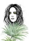 Livistona leaf - Agnieszka Nawrat