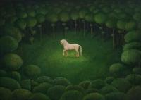 weißes Pferd - Malwina de Brade