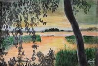 Zachód słońca - Alexey Esaulenko