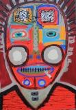 Red mask - Paweł Zakrzewski