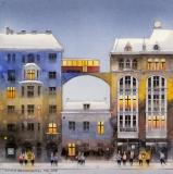 Śródmiejskie kamienice - Tytus Brzozowski