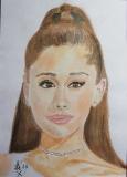 Porträt Von Ariana Grande - Alexey Esaulenko