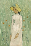 Girl in White, Vincent Van Gogh