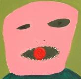 Pink mask - Paweł Zakrzewski