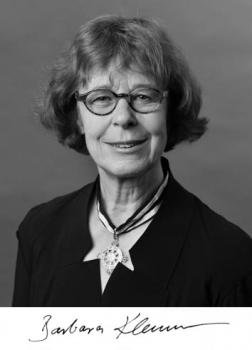 Barbara Klemm (1968-2013)