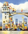 A magical city created for adventure. Picturebook by Tytus Brzozowski