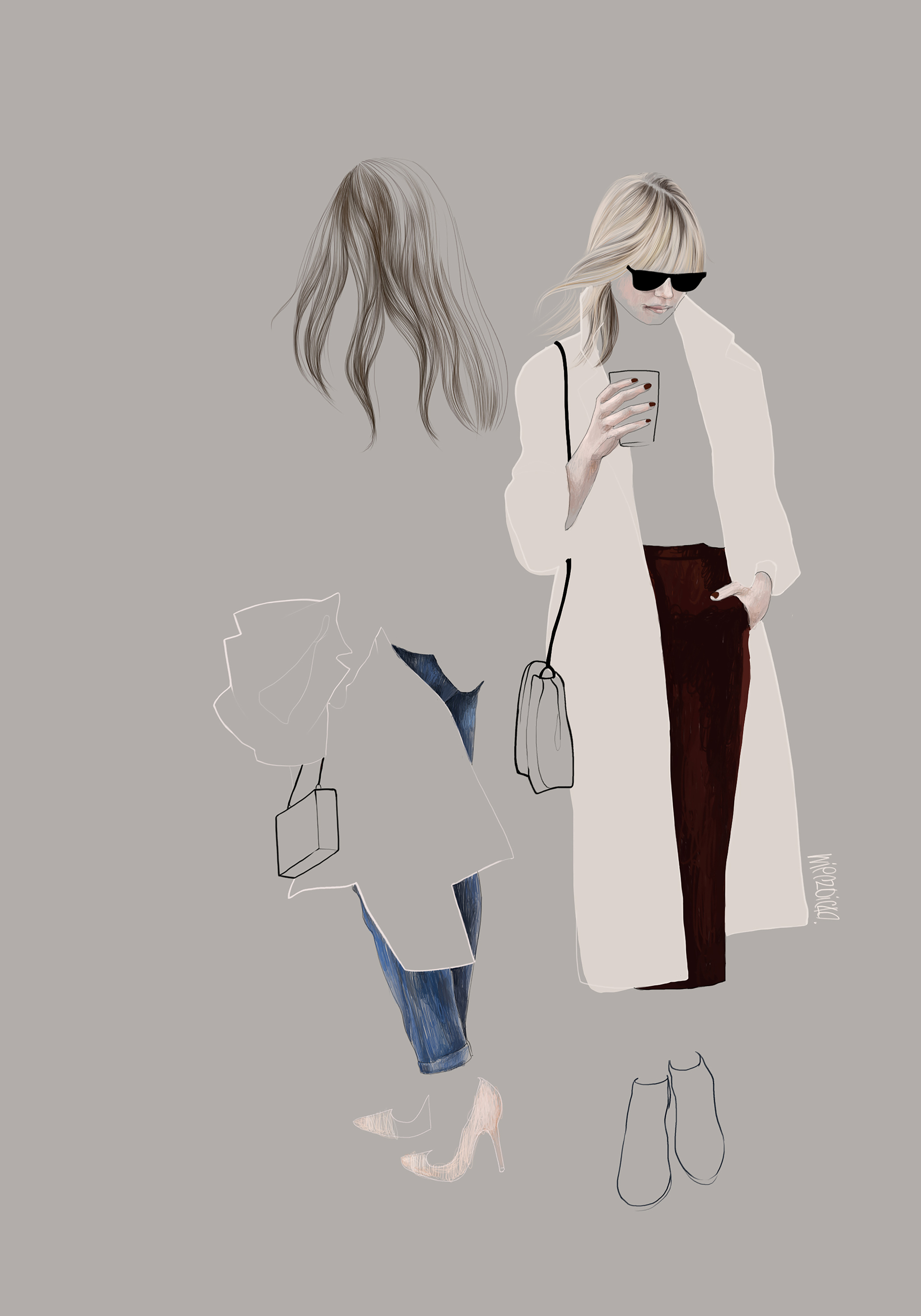 Agata Wierzbicka, Street fashion 6