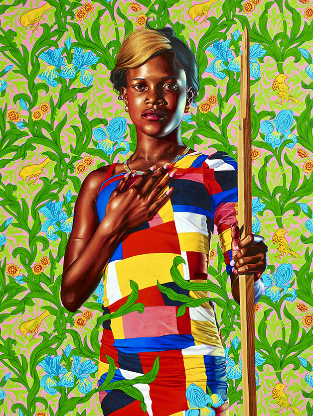 Kehinde Wiley, Saint John the Baptist in- the Wilderness, Jamaica, World Stage