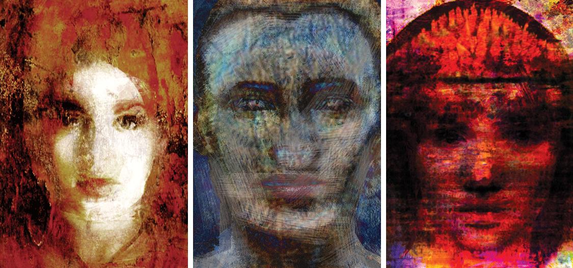 Magdalena Pastuszak, Tacy jak my - wystawa grafik intermedialnych