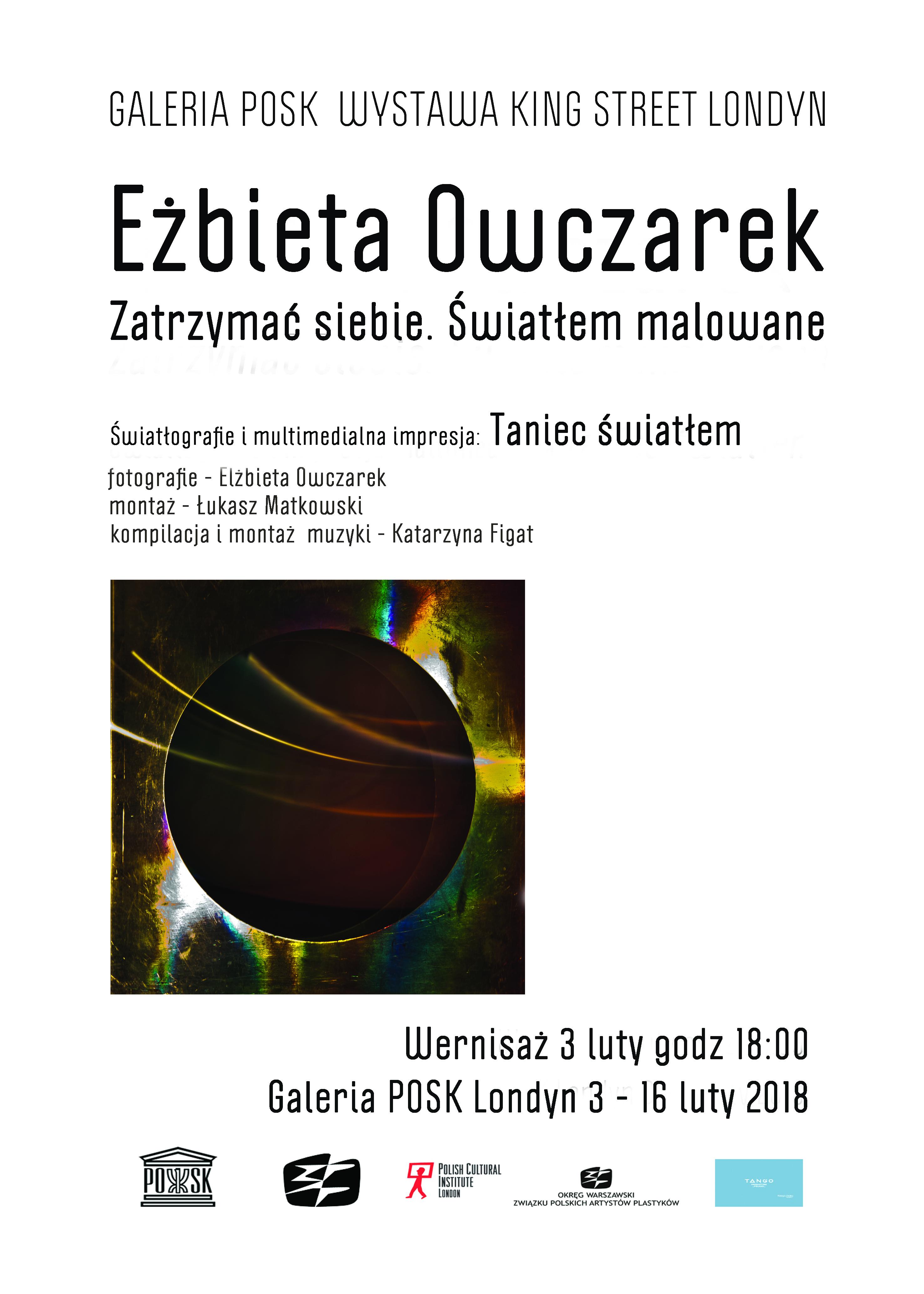 Elżbieta Owczarek. Wystawa światłografii