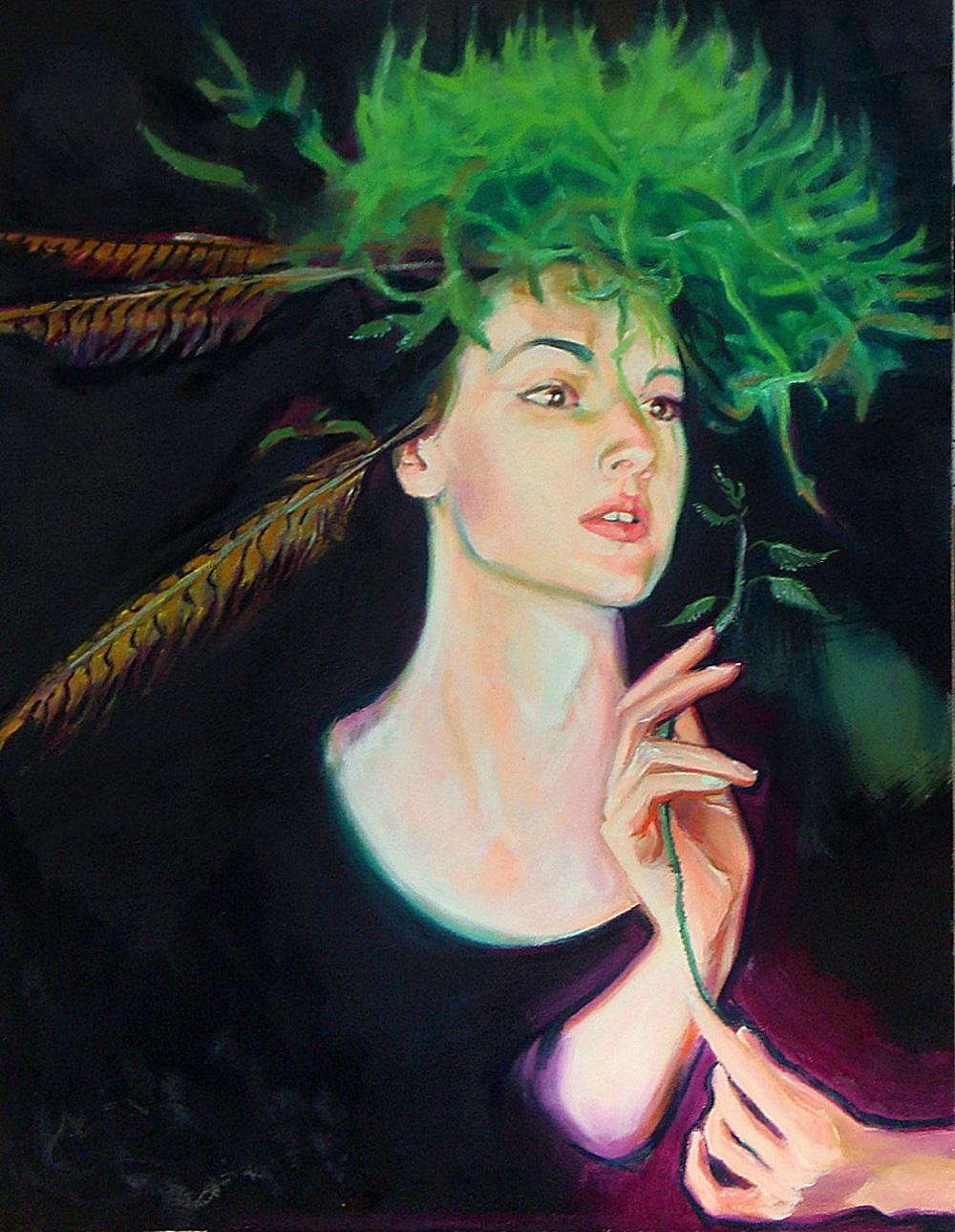 Sylwia Górak, Autoportret z pokrzywą