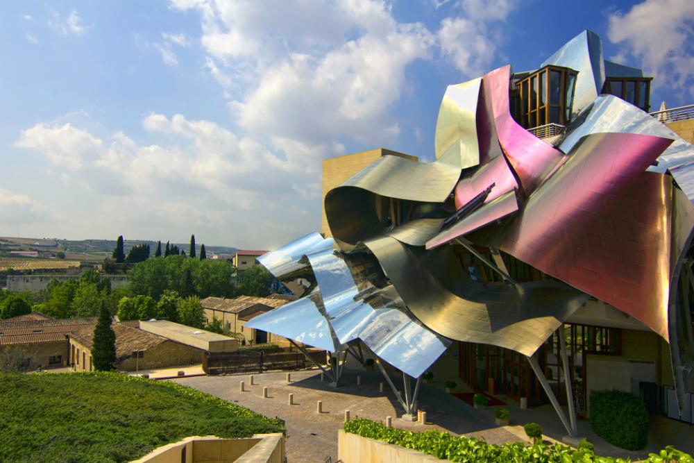 Wojtek Gurak, Hotel Marqués de Riscal proj. Frank Gehry, Hiszpania