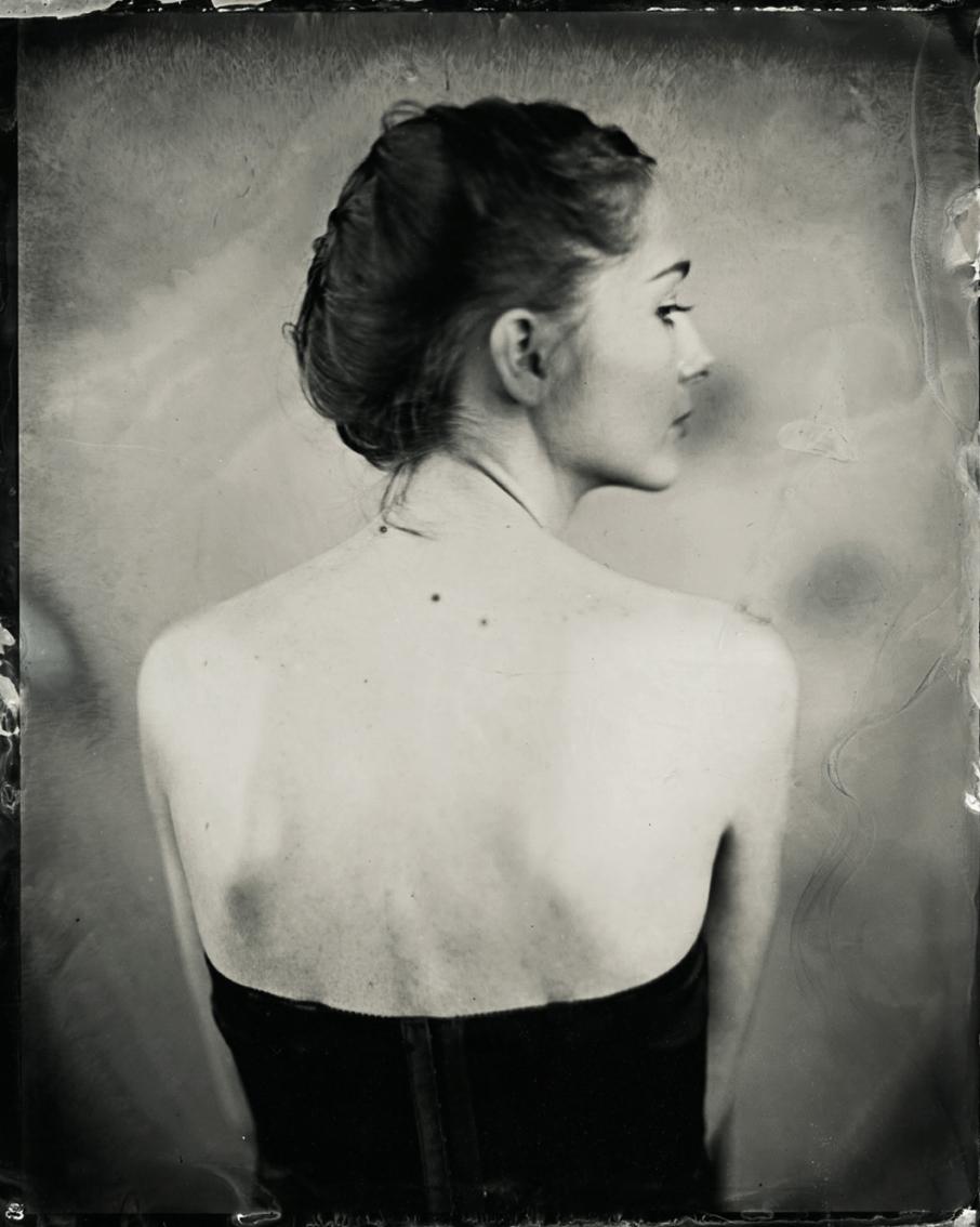 Melodia, Joanna Borowiec, ambrotyp
