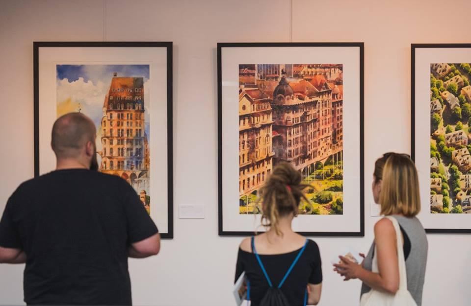Festiwal Przestrzeni Miejskiej, wystawa prac Tytusa Brzozowskiego