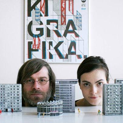 Festiwal Przestrzeni Miejskiej, wystawa prac duetu Zupagrafika