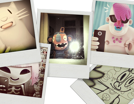 Pictoplasma, CharacterSelfies