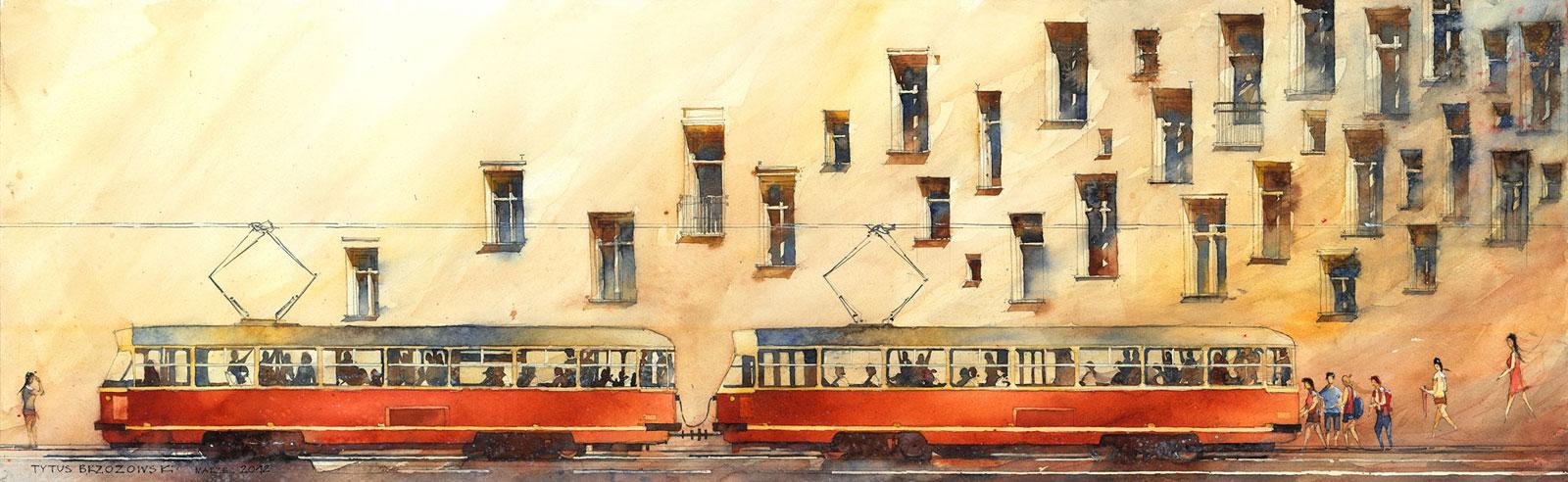 Tytus Brzozowski, Tramwaj